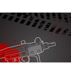 military background vector image