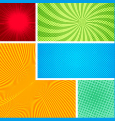 abstract comic elegant composition vector image