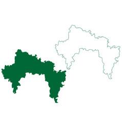 Bangalore rural district karnataka state republic vector
