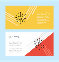 blast abstract corporate business banner template vector image