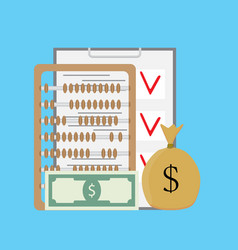 Check and count money vector