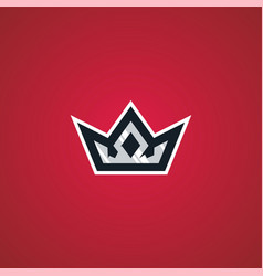 Crown king sport esport gaming logo download vector