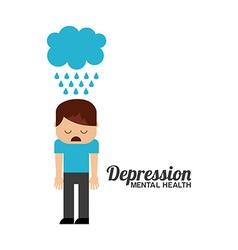 Mental health design vector