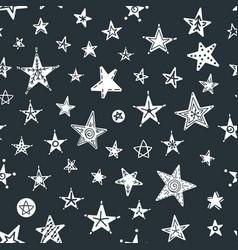 seamless christmas pattern vector image