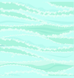 seamless textured sea or river water pattern vector image