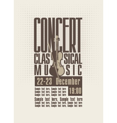 concert music vector image
