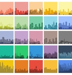 flat urban vector image