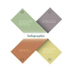Trendy Design template vector image vector image