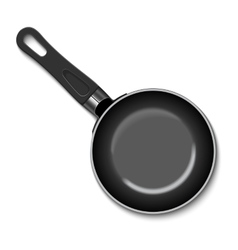 A frying pan vector