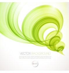 Abstract twist line background Template brochure vector image