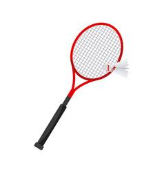 badminton sport design vector image