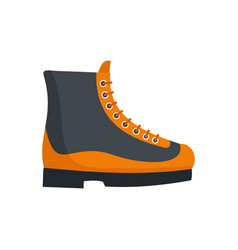 boots icon flat style vector image