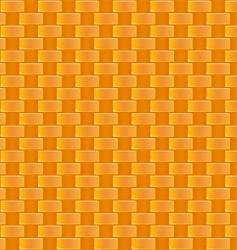 Cane weaving pattern vector