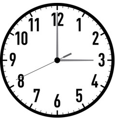 Clock-001 vector