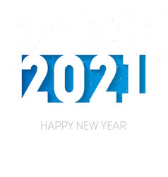 Happy new year 2021 cover business diary vector