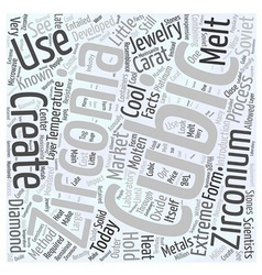 Little Known Facts About Cubic Zirconia Word Cloud vector