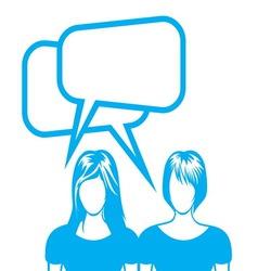 Social network sa ljudima2 vector