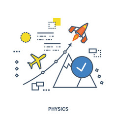 The concept of teaching physics and its laws vector