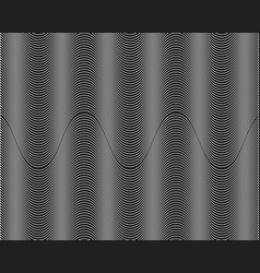 wave line abstrack background vector image