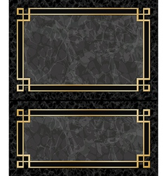 Marble Frames vector image vector image
