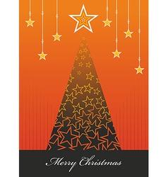 Christmas season background vector image