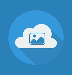 Cloud Computing Flat Icon Photos vector