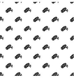 door knob pattern seamless vector image