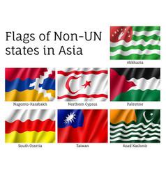 Flags of non-un states vector