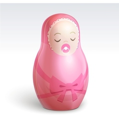 girl matrioshka vector image