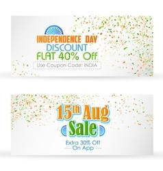 Indian banner for sale and promotion vector