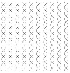 Monochrome seamless pattern vertical chains vector