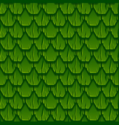 seamless pattern geometric old wooden green vector image