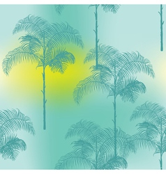 Tropical Palm Trees Background vector