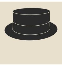 Boater hat vector image