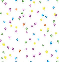 Seamless Balloon Pattern vector image vector image
