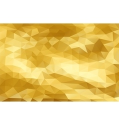 Mosaic Golden sparkle templates vector image vector image