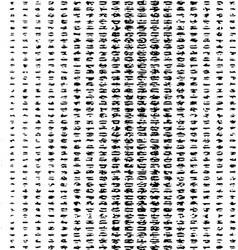 black grunge pattern vector image vector image