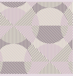 abstract geometry repeatable motif in violet vector image