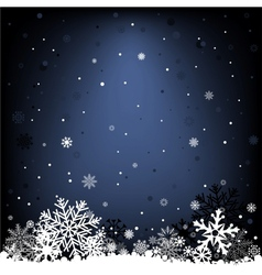 dark blue snow mesh background vector image