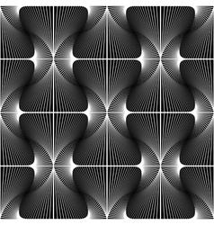 Design seamless striped diamond geometric pattern vector