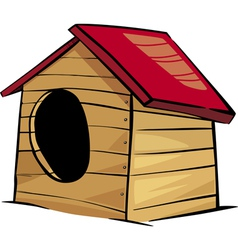Doghouse clip art cartoon vector