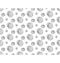 Line rose floral pattern seamless backdrop vector
