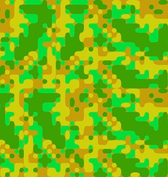 modern pixel camouflage cartoon pattern vector image
