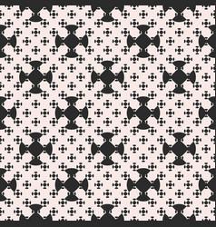 monochrome minimalist seamless pattern vector image