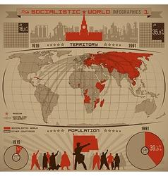 Socialisticinfogr1 vector image