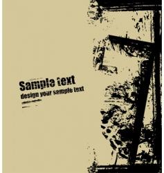 grunge splash background vector image vector image