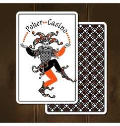 Joker cards realistic vector
