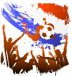 world cup Holland vector image vector image
