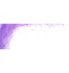 Abstract surface purple watercolor texture vector