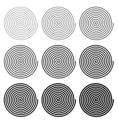 Archimedes archimedean spiral vector